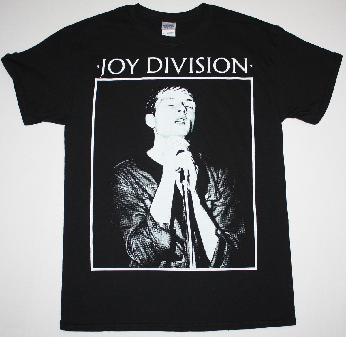 JOY DIVISION HERE ARE THE YOUNG MEN ROCK NEW ORDER SMITHS BLACK T-SHIRT Tee Shirt Homme T Men Funny