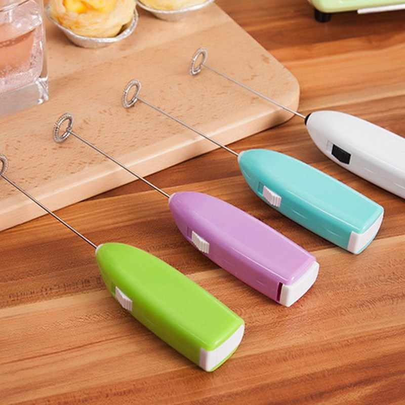 Domicílios Mini Hand-held Batedeira Batedor de Ovos Shaker Cappuccino Café Acessórios de Cozinha Criativa GadgetsHome