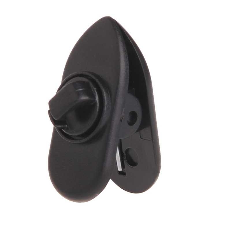 10Pcs Cable Cord Clip Clamp Collar Lapel Shirt Holder For Headphone Earphone