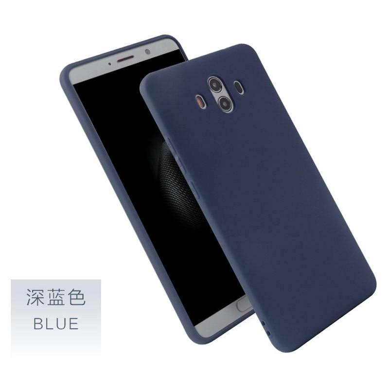Soft Silicone Candy Matte Case For Huawei P8 Lite P9 P10 P20 Lite Plus Nova Honor 6C 6A 6X Honor 8 Honor 9 Mate 10 Lite