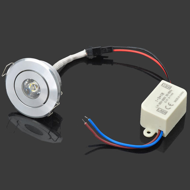 3W Led downlight AC85 265v red yellow blue green white led down ...