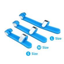 Триггер палец шина алюминий и пена Поддержка Brace пальцевые шины для молотка палец/растяжение/перелом/облегчение боли/палец костяшки