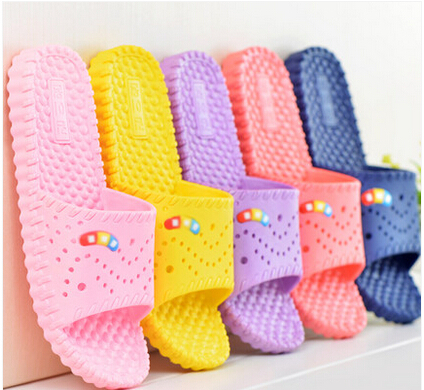 Bathroom Slippers Summer Home Slippers Sandals And Slippers Lesbian Massage Slip Soft Bottom Indoor Plastic