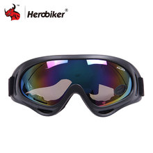 2017 Hot sales Motorcycle Ski glasses UV Protection Super Sports Outdoor Glasses Off-Road Eyewear 5 Colour