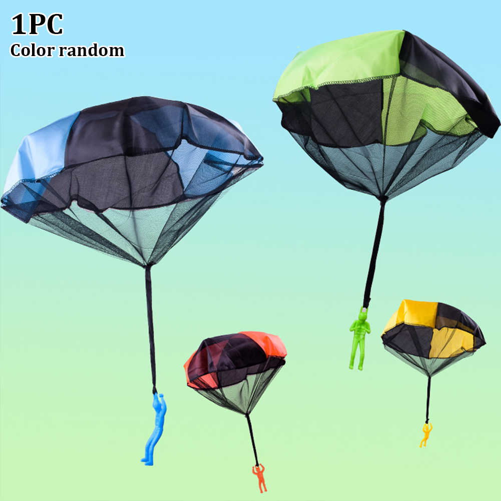Imitate Sports Play Soldier Children Funny Educational Game Gift Mini Outdoor Parachute Toy Kids Hand Throwing