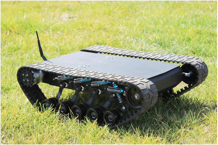 DOIT 138t Tracked Robot Tank Chassis RC Smart Crawler Tank Platform Cross-obstacle Machine with Max Load 20kg diy tracked robot