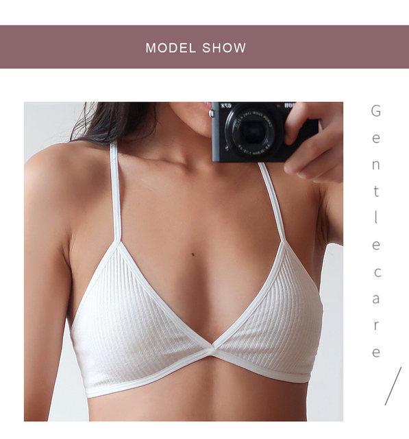 New Sexy Bras For Women Ultra-thin Wire Free Female Bralette Seamless Solid Women Bras Ladies Sexy Lingerie Femme Underwear 20