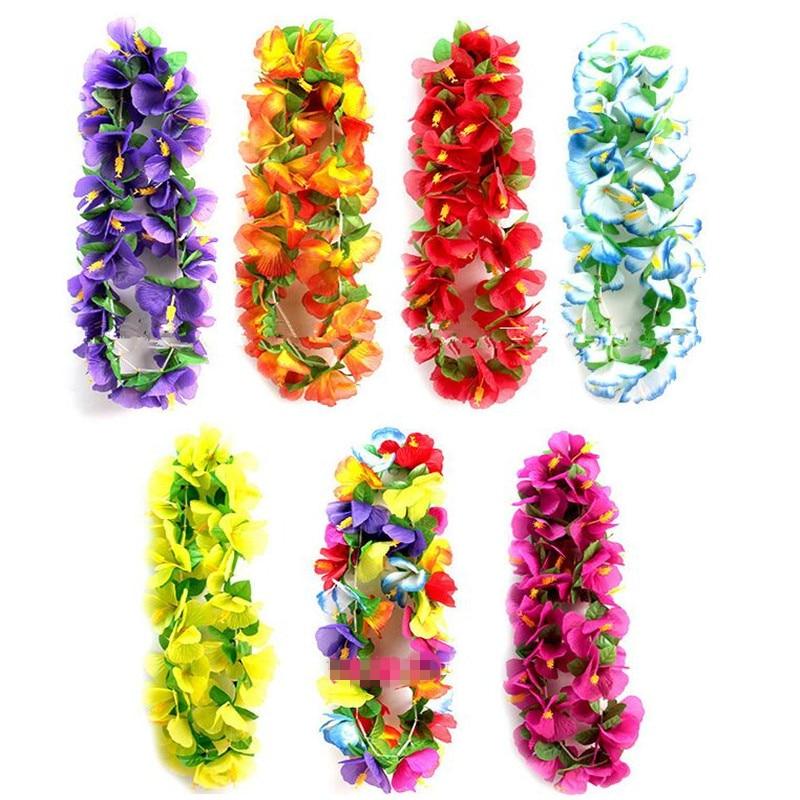 Festive & Party Supplies 1pc Led Light Artificial Flowers Wreath Headband Hawaiian Flash Garland Hawaiian Birthday Party Decorations Wedding Decoration.s Latest Fashion Event & Party