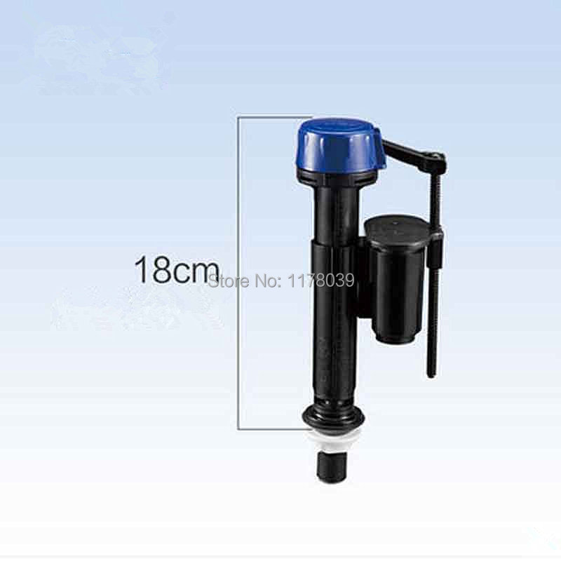 18cm black Ultra-short inlet water valve,Height can not be adjusted Toilet water tank Filling Valves,Toilet water tank parts