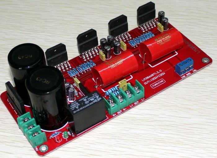 2*100W amplifier board LM3886 BTL 2.0 channel power amp board Stage amplifier board/Using C1237 BTL speaker protection circuit подвесной светильник globo 49350d1