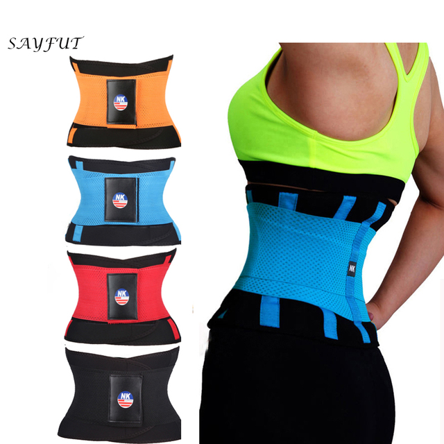f87d74c9ef SAYFUT Waist Trainer Cincher Man Women Xtreme Thermo Power Hot Body Shaper  Girdle Belt Underbust Control Corset Firm Slimming