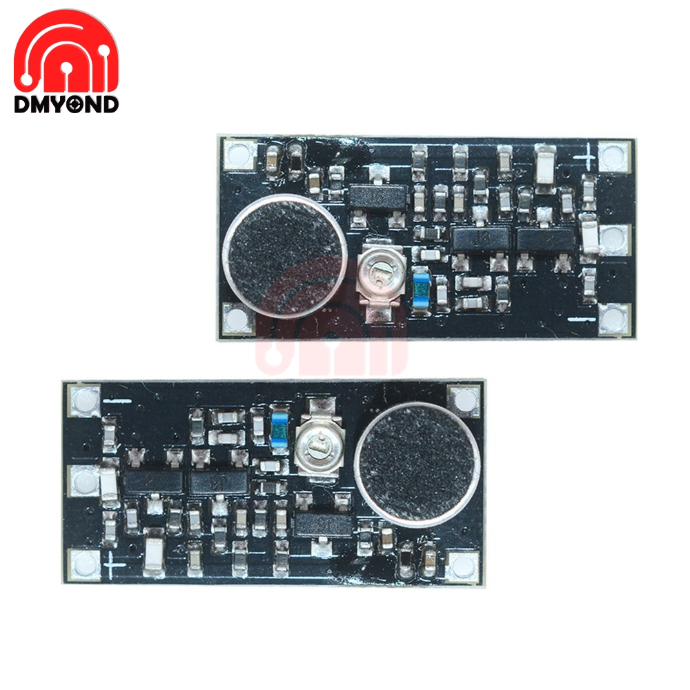 88-108MHz FM Transmitter Wireless Micro Phone Microphone Surveillance Frequency Board Module DC 2V-9V Diy Electronic