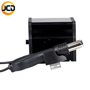 Image 4 - JCD858D محطة لحام الهواء الساخن 220 فولت/110 فولت 700 واط مسدس هواء ساخن سبيكة لحام كهربائي عدة جودة لتقوم بها بنفسك وإعادة العمل مصلحة الارصاد الجوية