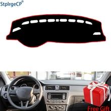 Per SKODA Rapid Rapid Spaceback 2014-2019 cruscotto stuoia di Protezione Ombra Cuscino Pad interni sticker car styling accessori