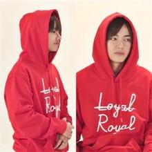 BTS Taehyung (V) Loyal-Royal Hoodie