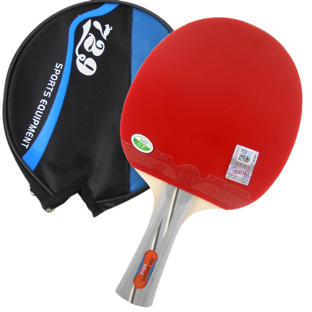 RITC 729 2060# Pips-In Table Tennis Ping Pong Racket + A Paddle Bag 7 LAYERS Table Tennis Blade For PingPong Racket
