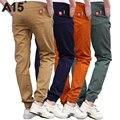 A15 pantalones de los muchachos 2017 de primavera de alta calidad de teenage boy ropa de los cabritos pantalones boy pantalones niños pantalones de algodón de tamaño 11 13 15 16 año