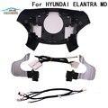 CHUANGMU для Hyundai AVANTE MD ELANTRA 2011 OEM Paddle Shift Switch Assembly DIY Kit