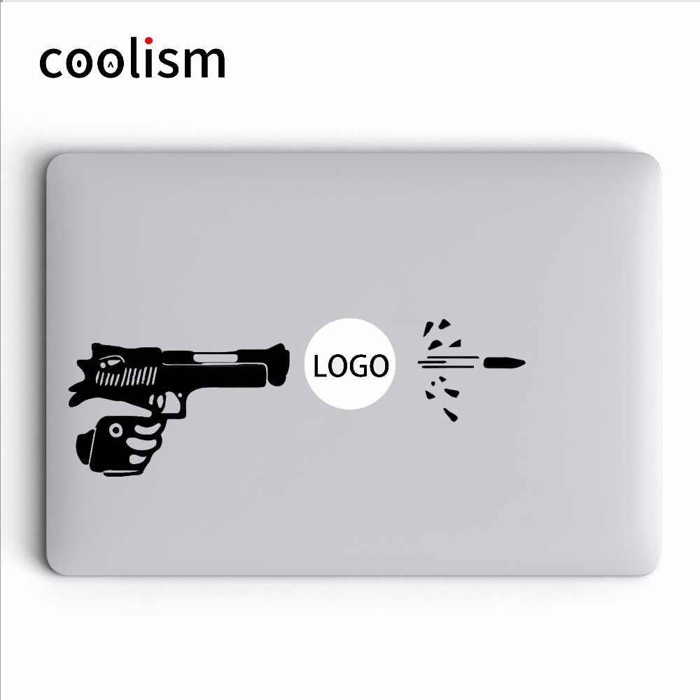 Detail Feedback Questions about Funny Gun Shooting Vinyl Laptop