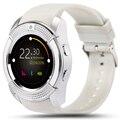 Elough Носимых Устройств V8 Smart Watch Support Touch SIM TF Card Электроники Телефон Наручные Часы Для Android смартфон Smartwatch