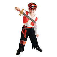 Cute Children S Full Sleeve Children Classic Halloween Costumes Boys Pirate Costume Kids Carnival Costume Kids