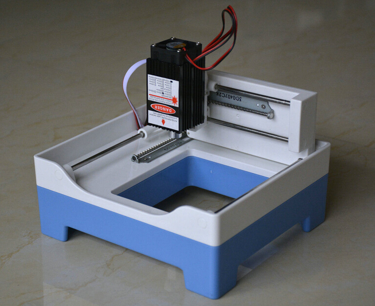 USB Cutting machine Engraver Laser engraving machine Laser Engraver Blue 1000mw no need G code DIY