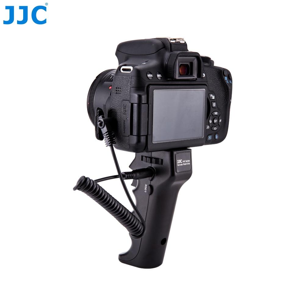 JJC Camera Shutter Triggering Remote Handle Grip For Canon/Nikon/Sony/Olympus/Pentax /Panasonic/Sigma with 1/4''-20 Mount