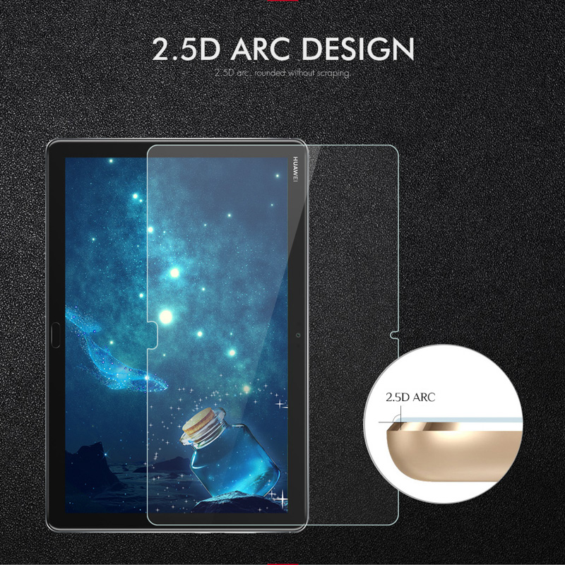 Tablet Tempered Glass For Huawei Mediapad M5 Lite Screen Protector For Huawei T5 10 M6 10 8 C5 8 0 M3 10 0 8 4 Glass Film in Tablet Screen Protectors from Computer Office