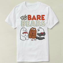 6d3fabcae6d We Bare Bears Ice Bear Wants Justice Tee Short Sleeve Men Women Cotton DIY  T Shirt Fashion Summer-in T-Shirts from Women s Clothing on Aliexpress.com  ...
