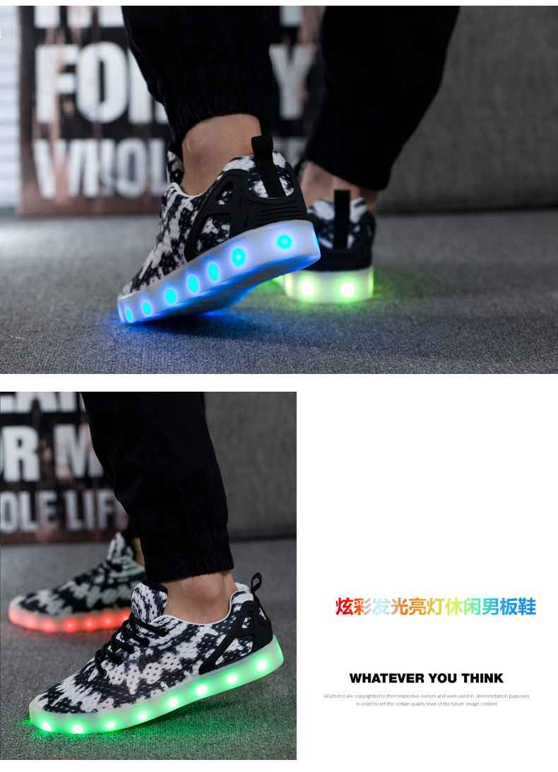 Led Sneakers Honeycomb 6