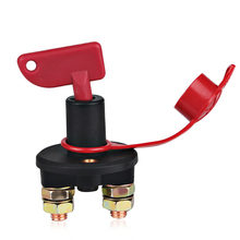 Battery Cut Off Switch Disconnect Power Isolator Switch M10 DC12-24V Truck Boat Car  For Marine Auto ATV Vehicles Car