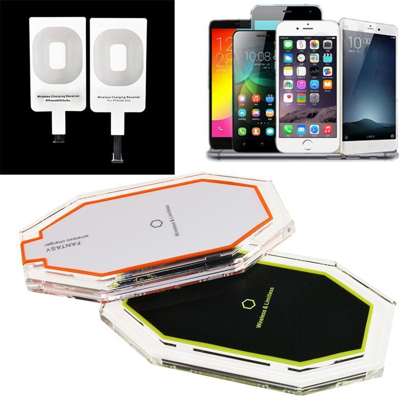 iphone 5 wireless charging new 3 induction coil qi wireless charger charging pad with 7487