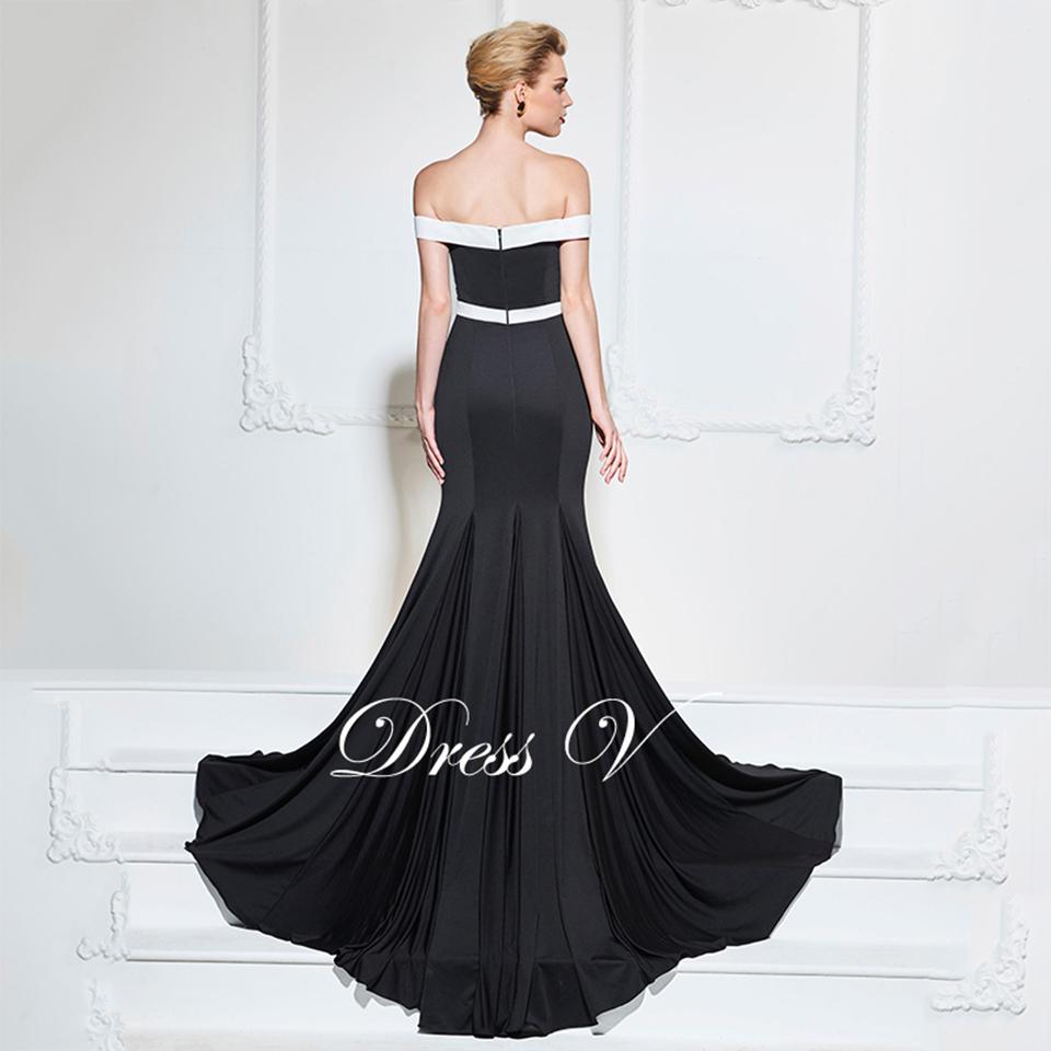 17276477d1b4 Dressv nero abito da sera di alta neck una linea elegante maniche lunghe  caviglia-lunghezza della festa nuziale vestito convenzionale abiti da seraUSD  ...