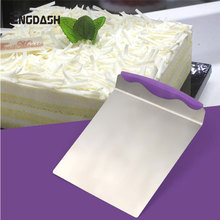 ENGDASH 1pc Stainless Steel Cake Shovel Transfer Tray Moving Plate Lifter Bread Pizza Blade Baking Tools Bakeware