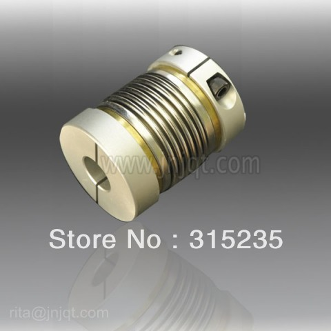 цена на D65 L81 25*25MM high precision clamp bellows coupling for carving machine