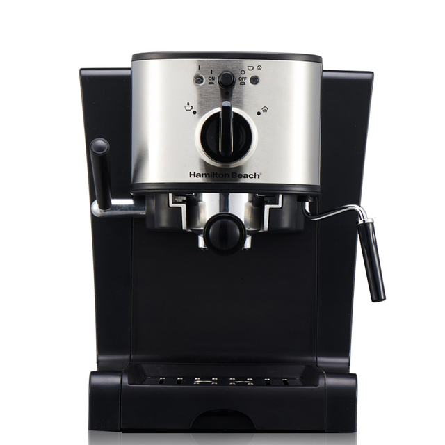 Espresso Coffee Machine 15 Bar Italian Maker Automatic High Pressure Steam Milk Foam