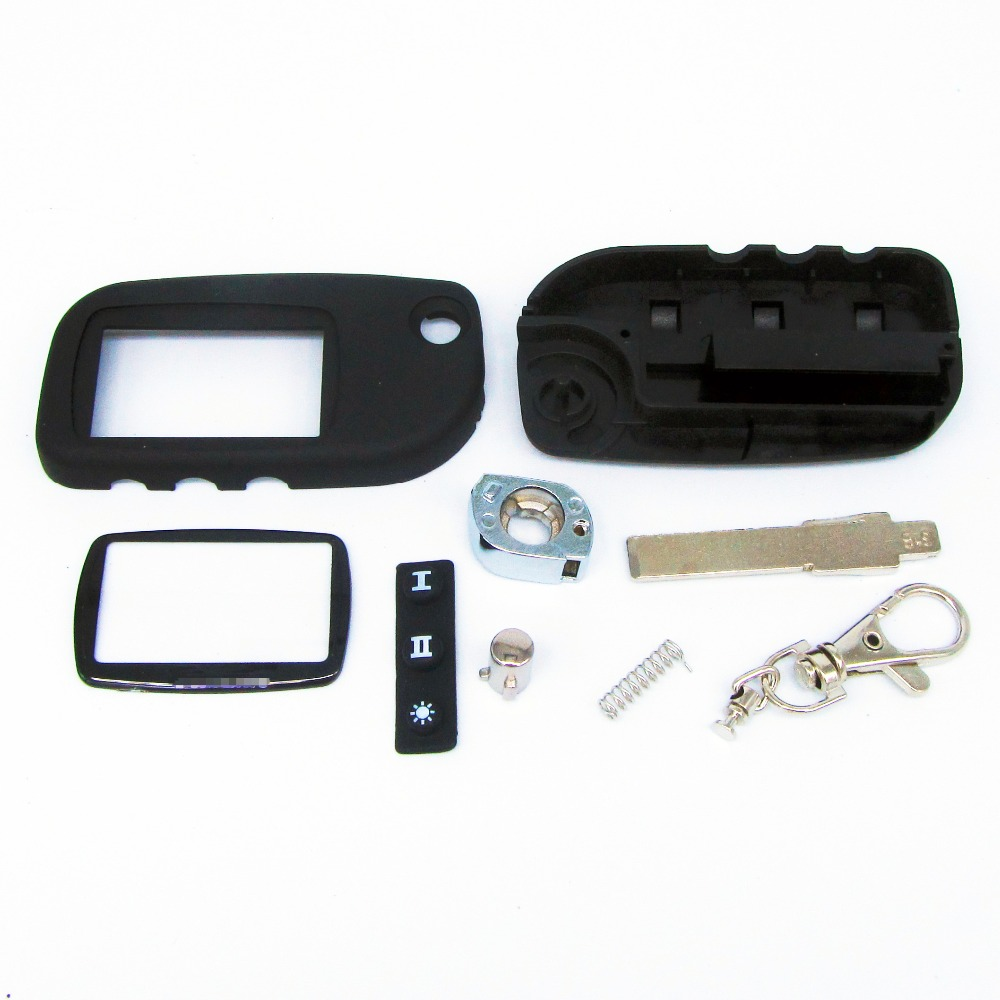 switchblade key case for Starline A9 A6 A8 A4 uncut blade fob case cover A9 folding