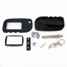 Switchblade key case para Starline A9 A6 A8 A4 sin cortar cubierta de la caja fob hoja A9 coche plegable remoto flip envío gratis