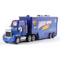 Cars Disney Pixar Cars Mack Uncle No.51 Hudson Truck Diecast Toy Car Loose 1:55 Brand New In Stock Disney Cars3 Cars2