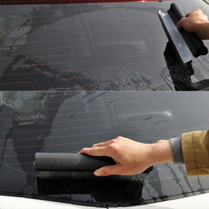 Image 3 - Leepeeミラーウィンドウワイパー自動ワイパークリーナー刃洗車機フロントガラス洗浄ツールガラス窓洗浄ブラシスクレーパーゴム