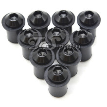 цена на motorcycle CNC Windshield Spike Bolt Screw M10 Nuts FOR suzuki gsx1400 01-07 gsf650 bandit 2007 gsx650f 08-15 gsx1250 f/sa 10-15