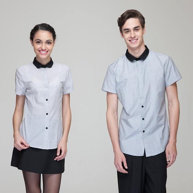 Buy 2017 fashion restaurant hotel uniform for Spa employee uniform