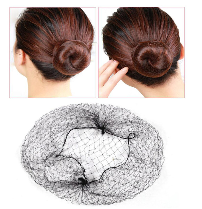 10pcs Invisible Hair Net Black Soft Elastic Hairnet Wigs Weaving Line Mesh Net Fishnet Women Wig Caps Styling Tools To Have Both The Quality Of Tenacity And Hardness