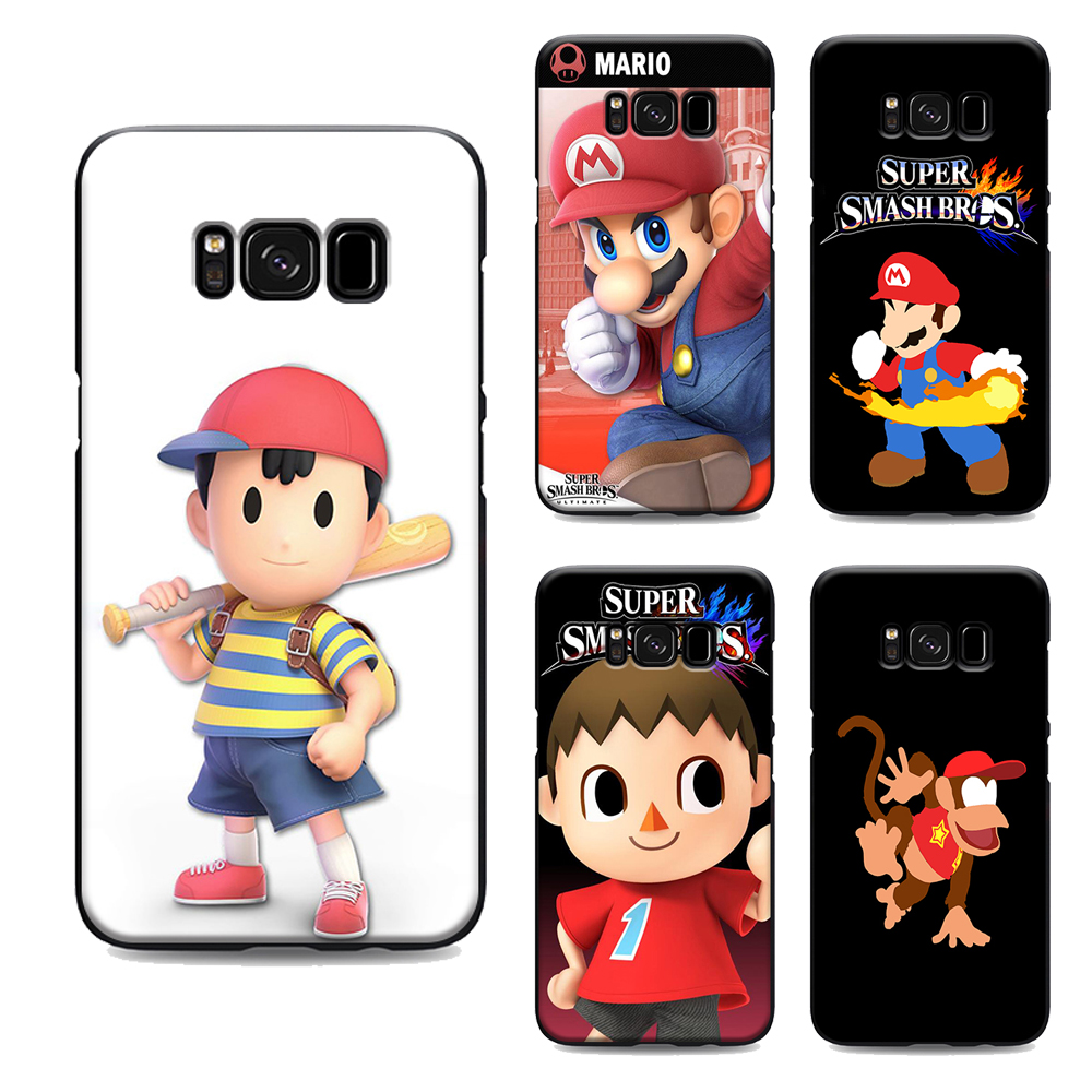 Super Smash Bros Ultimate Phone Case For Samsung Galaxy S7 Edge S6