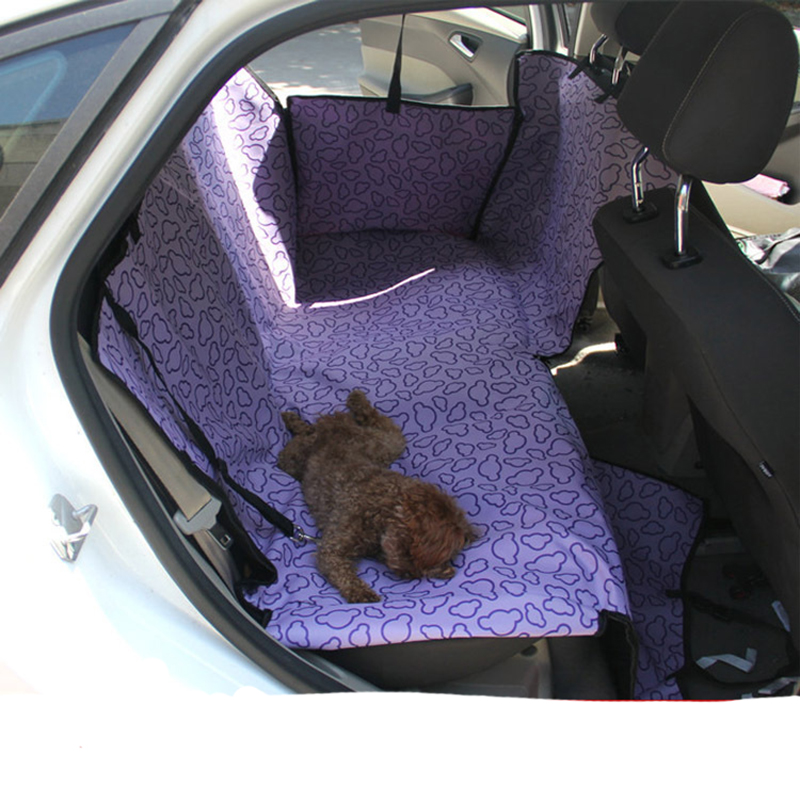 Dog Pet Back Seat Cover Puppy Dogs Car Seat Protector Pets