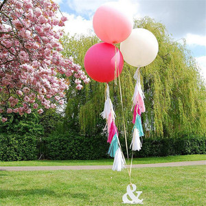 Image 2 - 5pcs/lot 36 Inch 90cm Jumbo Latex Balloons Inflatable Wedding Decoration Super Large Giant Round Birthday Party Balloon Supplies