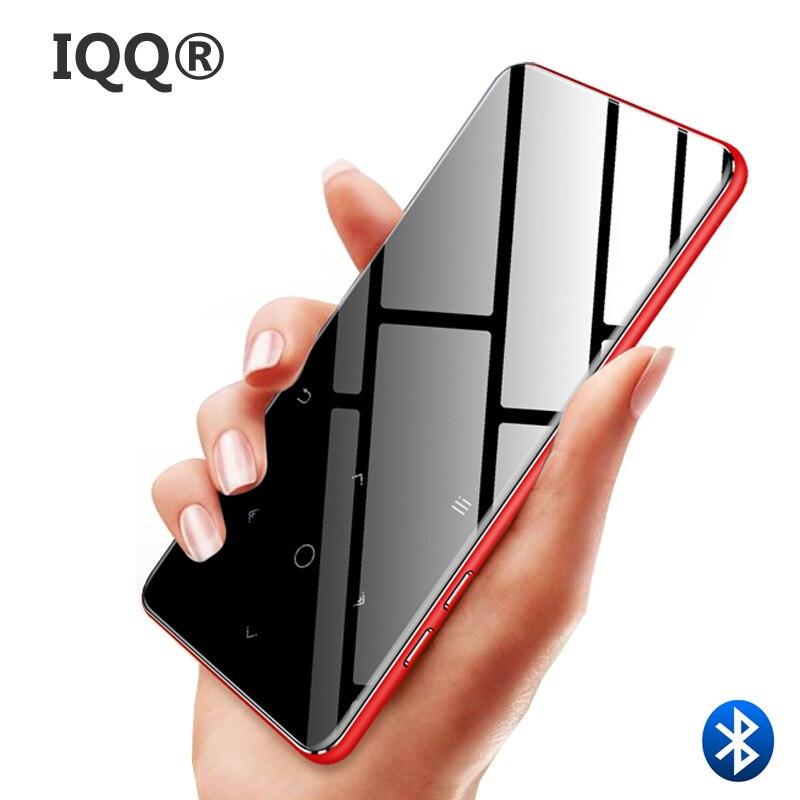 IQQ C6 Bluetooth 2.4 ''touch screen MP3 player Bulit-in Altoparlante con radio FM/registrazione Portatile Sottile del Suono senza perdita di walkman