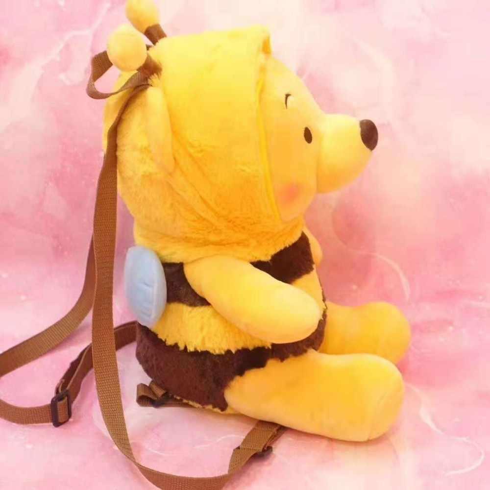 Милый мультфильм Винни Медведь платье пчелы плюшевый рюкзак мягкие игрушки/Животные сумка в виде Игрушки для девочек детские подарки на день рождения