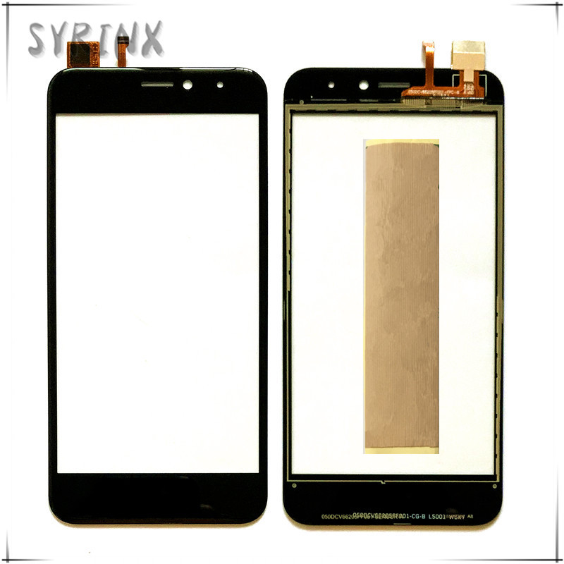 Syrinx With 3M Tape Mobile Phone Touch Panel For Fly FS526 Power Plus 2 Touch Screen Digitizer Front Glass Sensor Touchscreen