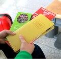 2015 Новый обложка Паспорта долго дизайн путешествия Владельцем Паспорта документы папку бумажник многофункциональный папка буклет